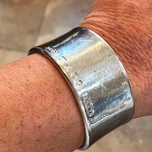 Authentic Tiffany cuff bracelet.